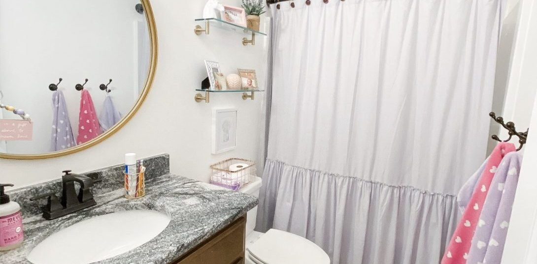 Our Daughters' Hall Bathroom Makeover: A Quick Weekend Project