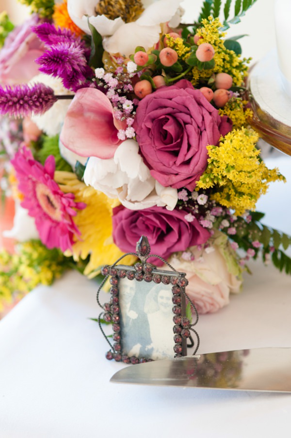 multicoloured wedding flowers http://www.georgimabee.com/
