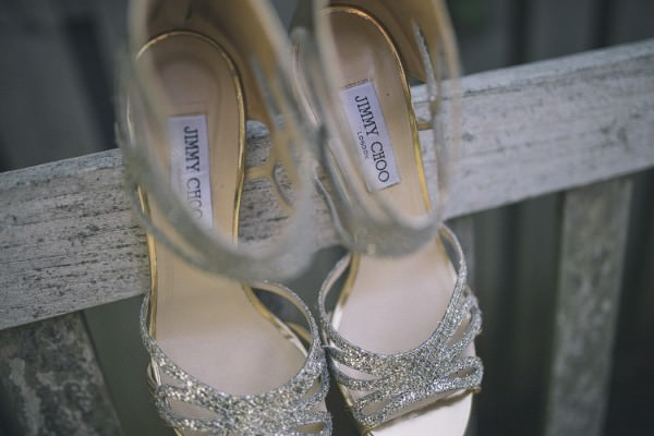Jimmy Choos shoes Chic Dusky Pink Wedding http://emmalawsonphotography.com/