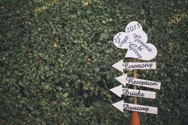 signs Chic Dusky Pink Wedding http://emmalawsonphotography.com/
