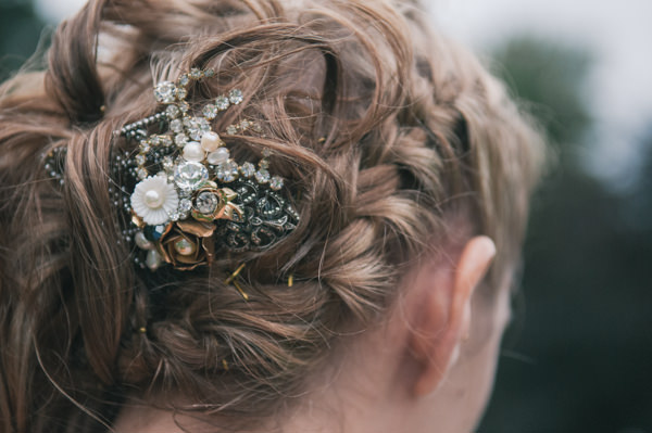 Plaited Hair Bride Sweet Village Fete Wedding http://www.tohave-toholdphotography.co.uk/