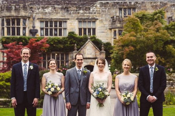 Elegant Manor House Wedding With A Paloma Blanca Dress In Surrey