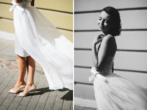 Intimate Sophisticated Lithuania Wedding Beautiful Bride http://www.kokkinofoto.lt/