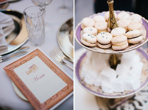 Intimate Sophisticated Lithuania Wedding Macarons http://www.kokkinofoto.lt/