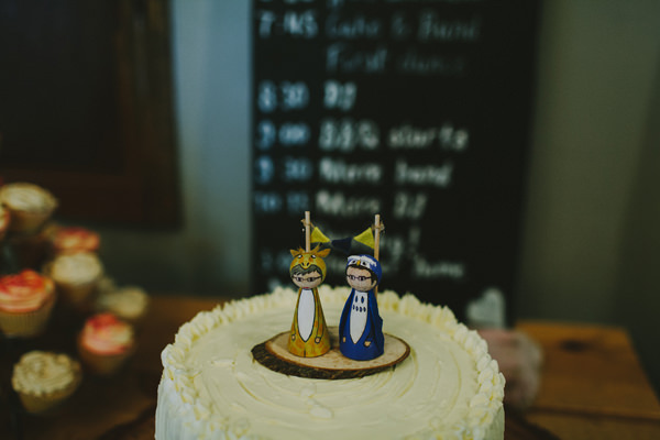 Quirky Chilled Party Wedding Wooden Cake Bride Groom Topper http://sdphotography.co.uk/