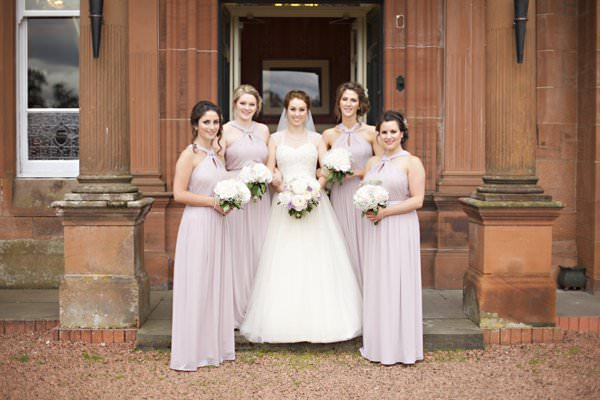 Pretty Pastel Romantic DIY Wedding Pink Bridesmaids http://www.milkbottlephotography.co.uk/