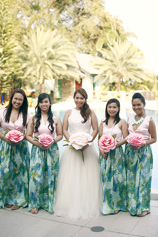 Coachella Inspired Philippines Wedding Whimsical