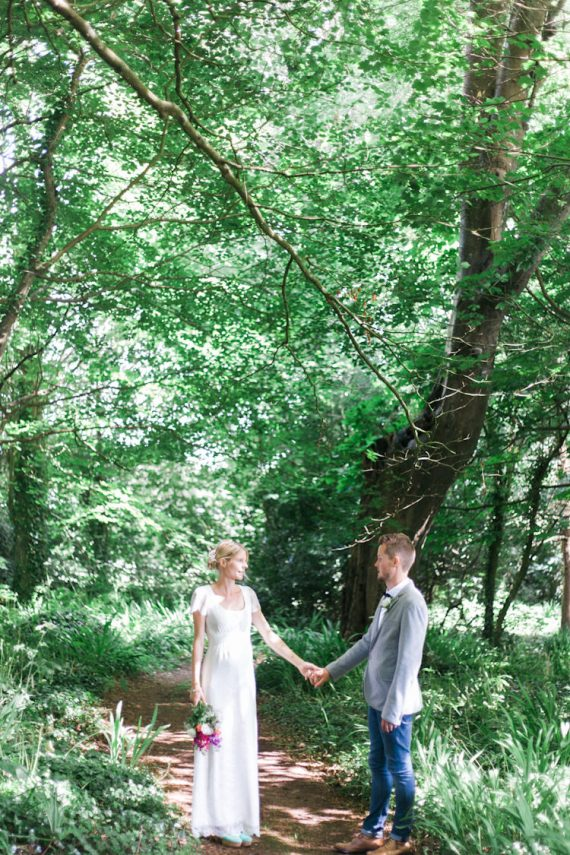 Romantic Humanist Forest Cornwall Pub Wedding http://weddings.workhousecollective.com/