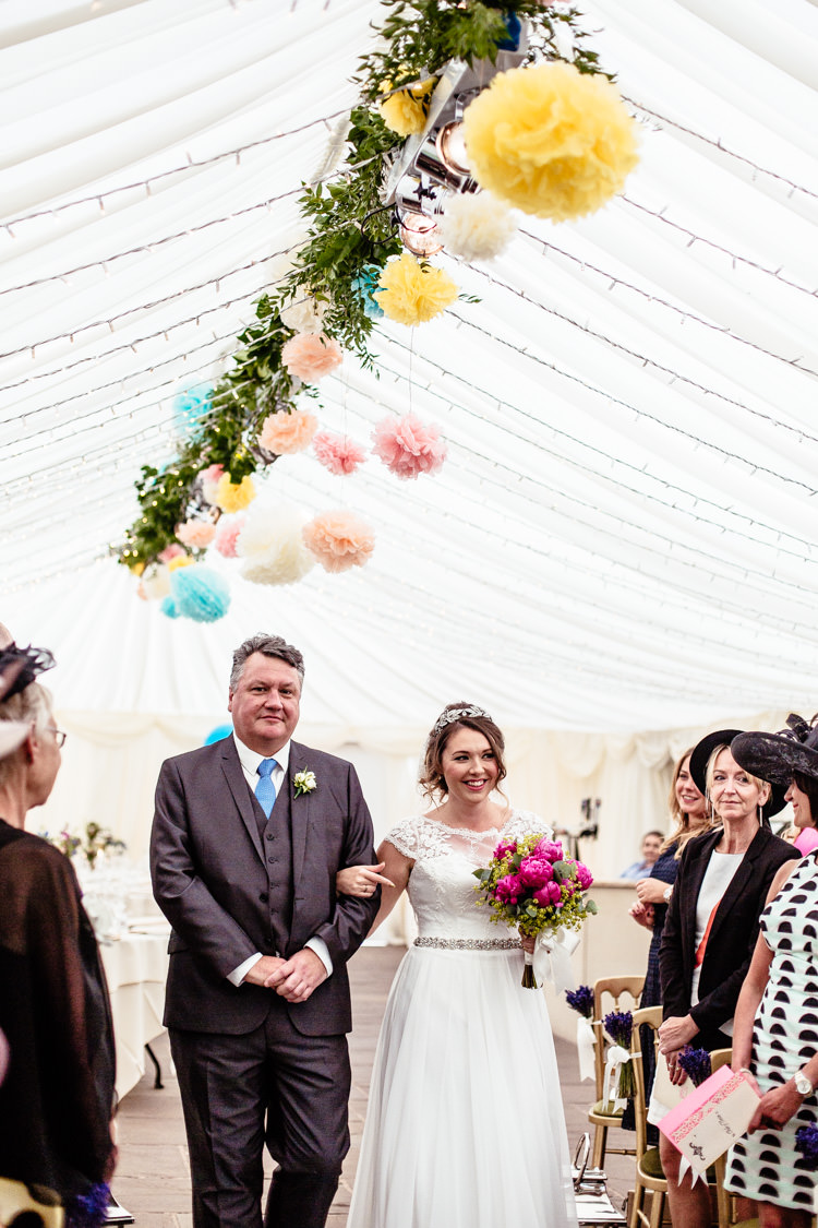 Quirky Colourful Pastel Country Fair Wedding http://www.cassandralane.co.uk/