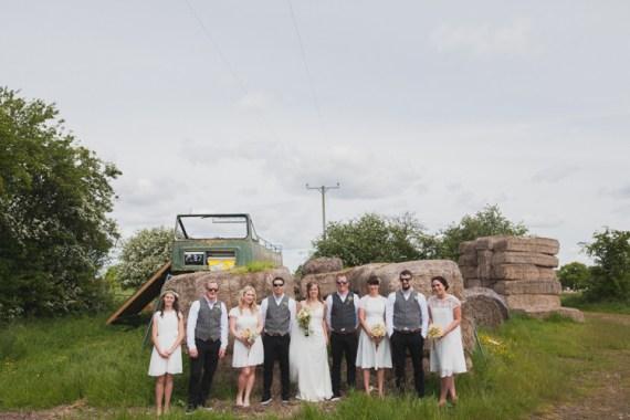 Indie Rustic DIY Fun Wedding Party http://www.sallytphotography.com/