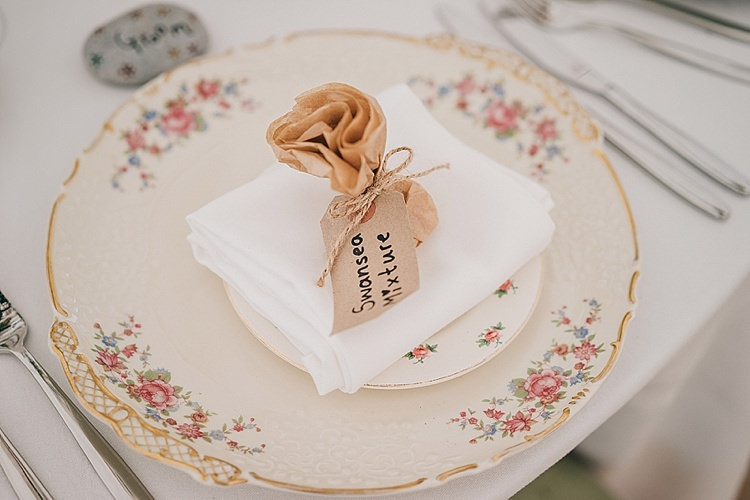 Vintage China Favours Bags Twine Luggage Tag Casual Summery Rustic Beach Wild Horses Wedding http://www.jasonmarkharris.com/
