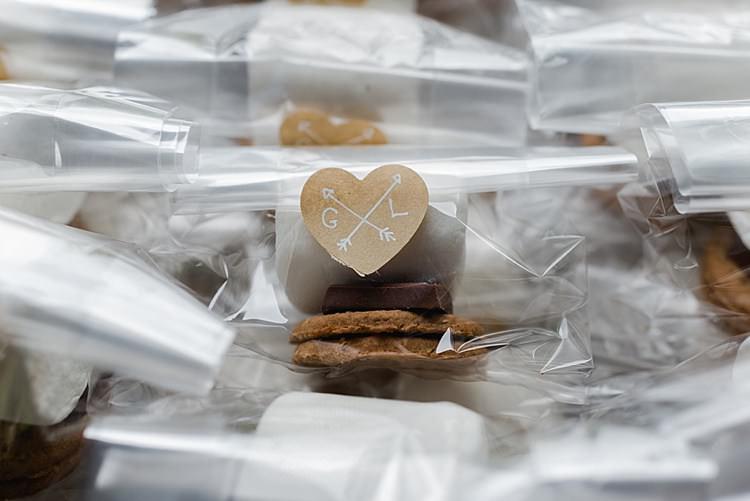 DIY Smores Marshmallow Toasting Kit Favours Tutorial
