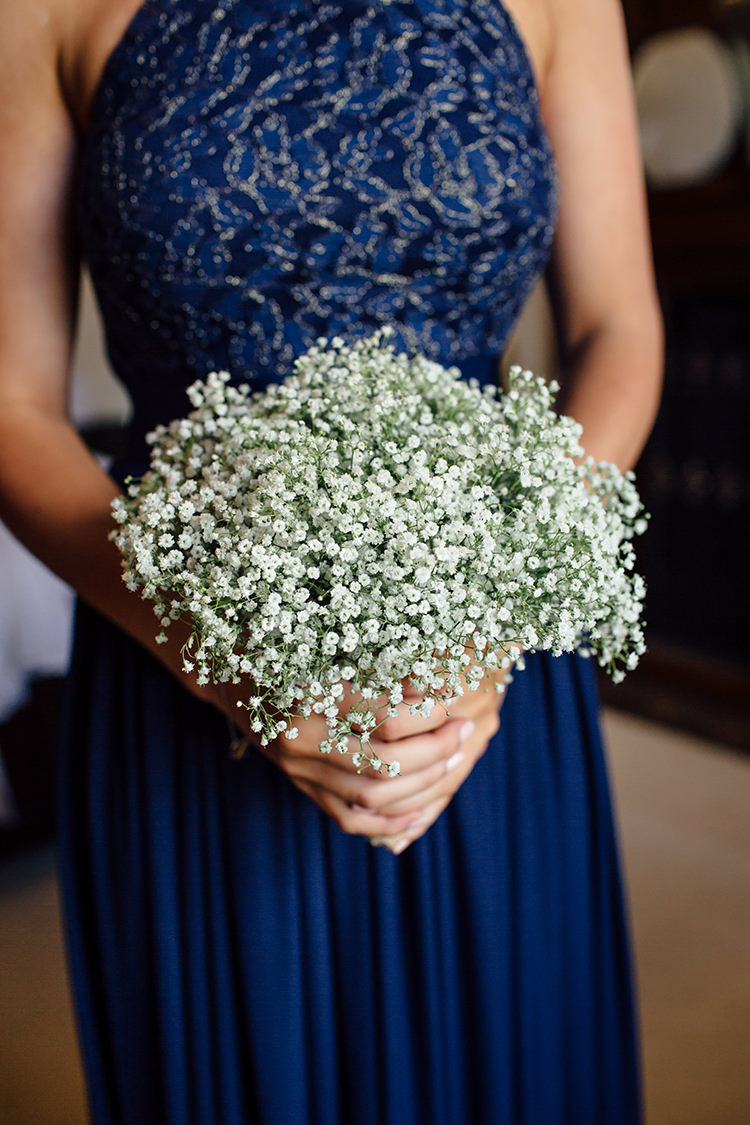 Gypsophila Baby Breath Bouquet Bridesmaid Flowers Home Made Rustic Eclectic Wedding http://www.frecklephotography.co.uk/