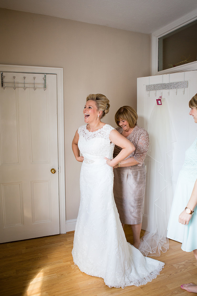 Mori Lee Bride Bridal Lace Dress Gown Pretty Natural Floral Barn Wedding http://www.johastingsphotography.co.uk/