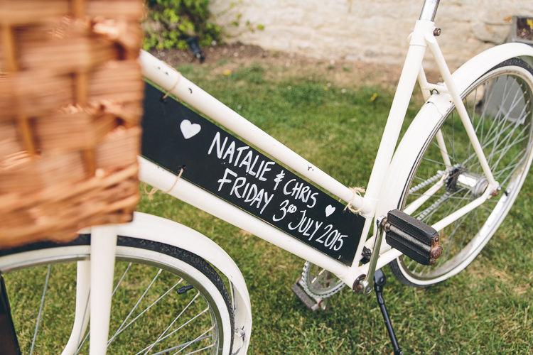 Bicycle Sign Bike Blackboard Chalkboard Great British Tea Party Wedding http://www.kategrayphotography.com/