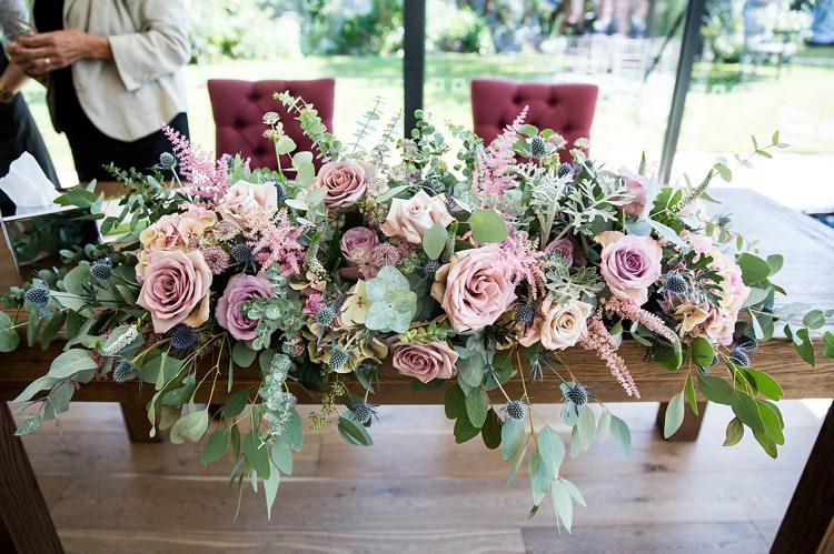 Pretty Pastel Country Garden Wedding