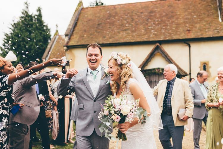 Confetti Throw Boho Beer Festival Wedding http://www.emilysteve.com/