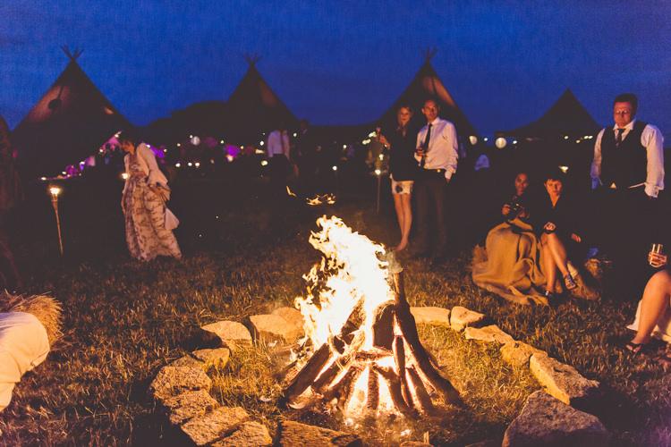 DIY Coastal Tipi Amp Camping Wedding Whimsical Wonderland