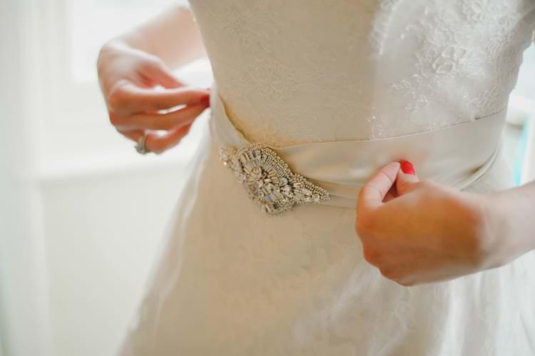 Lyn Ashworth Dress Gown Bride Bridal Lace Sleeves Belt Indie Rustic Beach Marquee Wedding http://www.abiriley.co.uk/