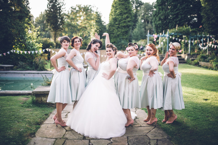 Quirky Retro 1950s Vintage Inspired Wedding Whimsical