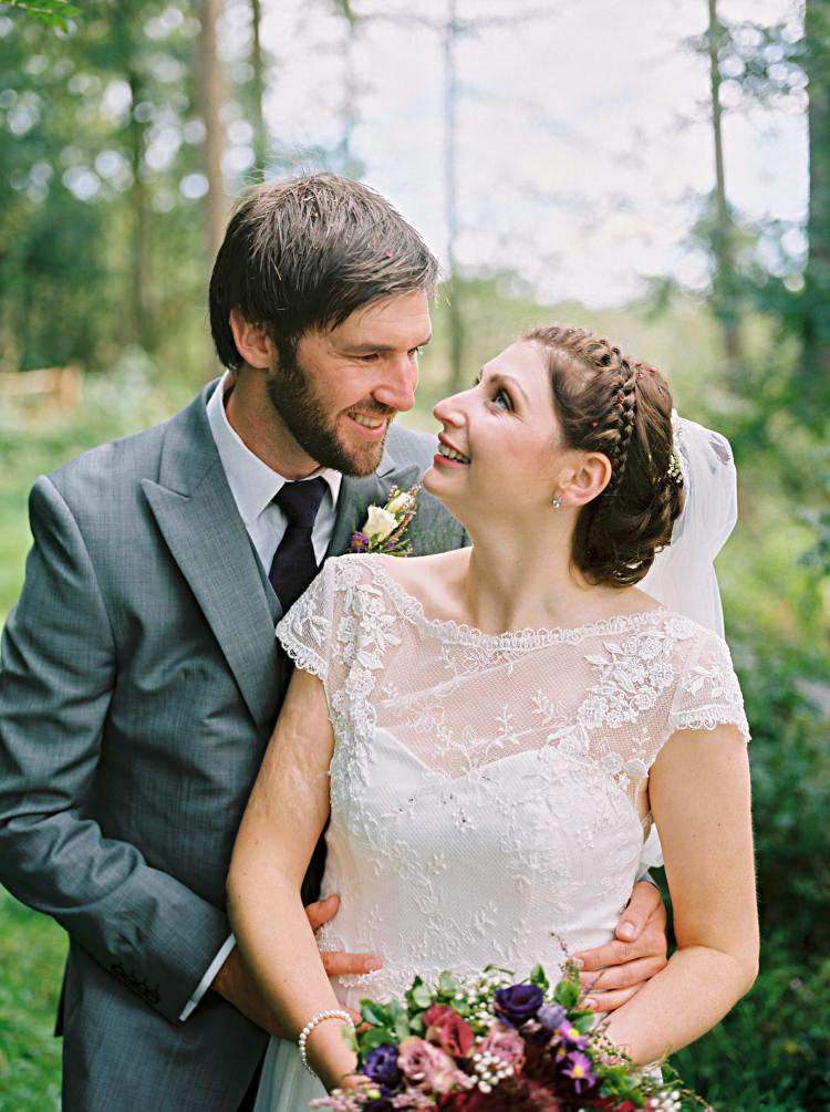 Plait Plaited Braid Braided Hair Bride Bridal Beautiful Bicycle Country Marquee Wedding http://www.emmabphotography.com/