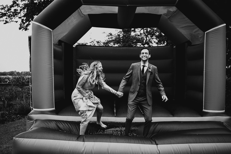 Bouncy Castle Stylish Indie Vintage Wedding http://www.timdunk.com/