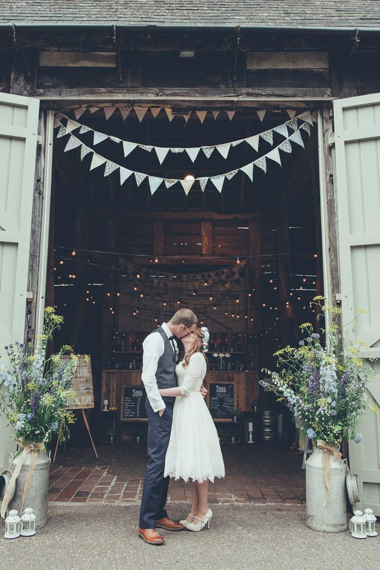 Rustic Home Made Country Barn Wedding Whimsical