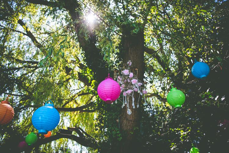 Lanterns Trees Magical Outdoor Garden Festival Wedding http://realsimplephotography.net/
