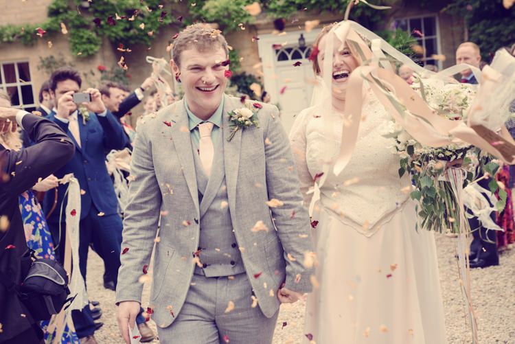 Confetti Ribbon Wands Homespun Mint Yurt Wedding http://www.jessicaraphaelphotography.com/
