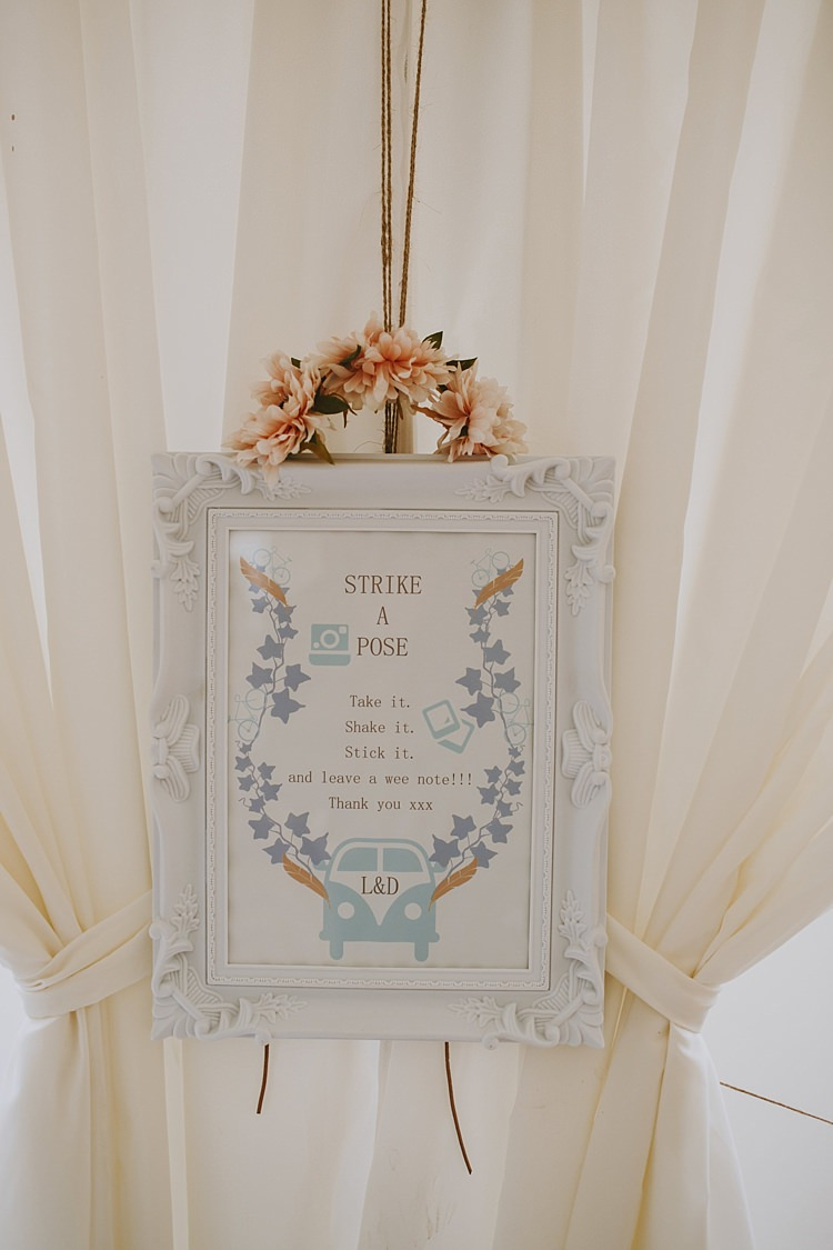Photo Booth Sign Beautiful Bohemian Beach Glamping Wedding http://www.thecurries.co/