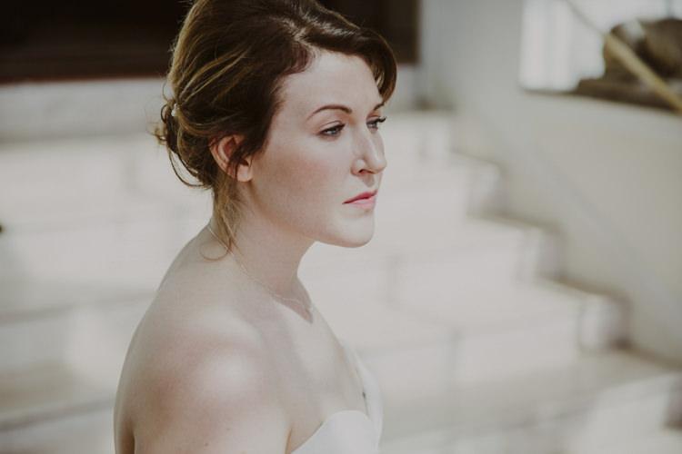 Bride Bridal Make Up Beautiful Romantic Stylish Relaxed Sea Wedding http://www.oxiphotography.co.uk/