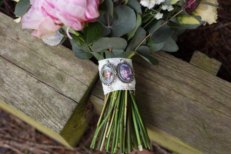 Bouquet Locket Flowers Pastel Marquee Garden Party Wedding https://www.deliciousphotography.co.uk/