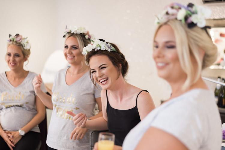 Flower Crown Bridesmaids Camping Festival Rave Tipi Wedding http://petalandblushartistry.co.uk/