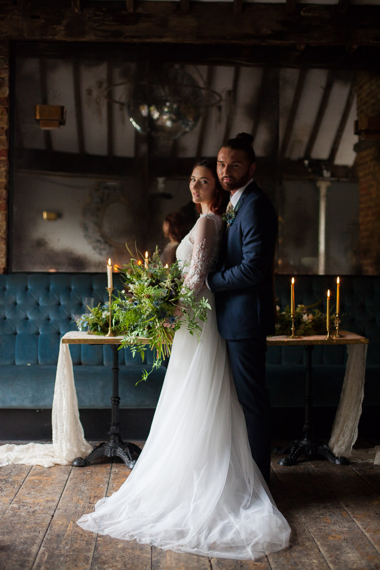 Blue Gold Luxe Victorian Wedding Ideas http://www.francescarlisle.co.uk/