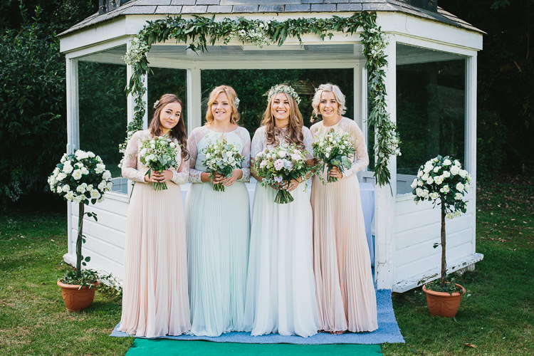 Long Pastel Bridesmaid Dresses Bohemian Outdoor Country Wedding https://www.alexapoppeweddingphotography.com/