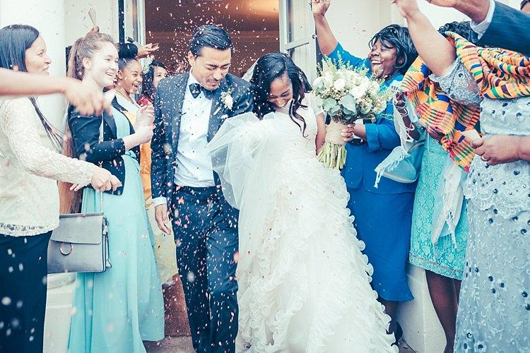 Confetti Throw Bride Groom Fun Stylish City Hall Wedding http://www.terryliphotography.co.uk/