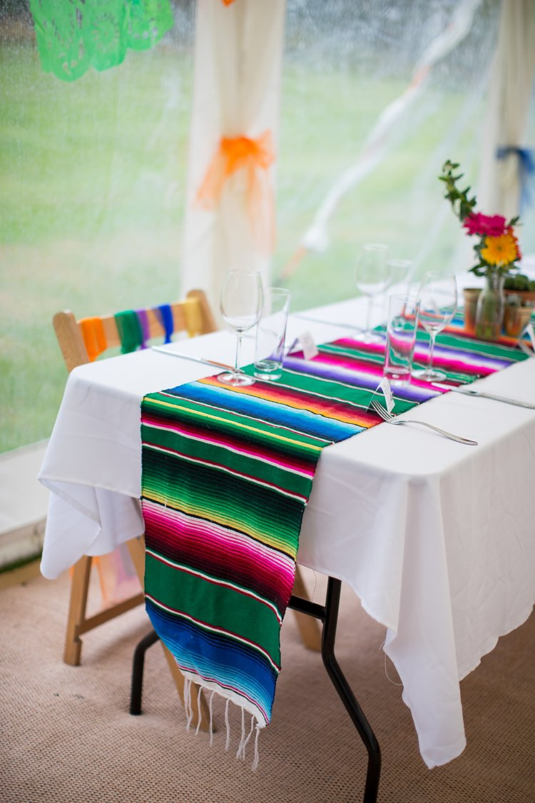 Table Runners Cloths Mexican Inspired Colourful Cactus Wedding http://katherineashdown.co.uk/