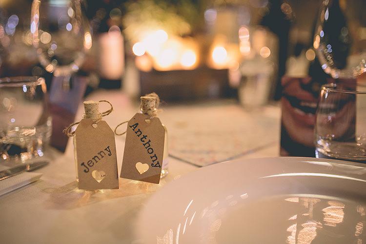 Mini Drink Bottle Favours Place Names Homespun Fun Country Barn Wedding http://storyandcolour.co.uk/