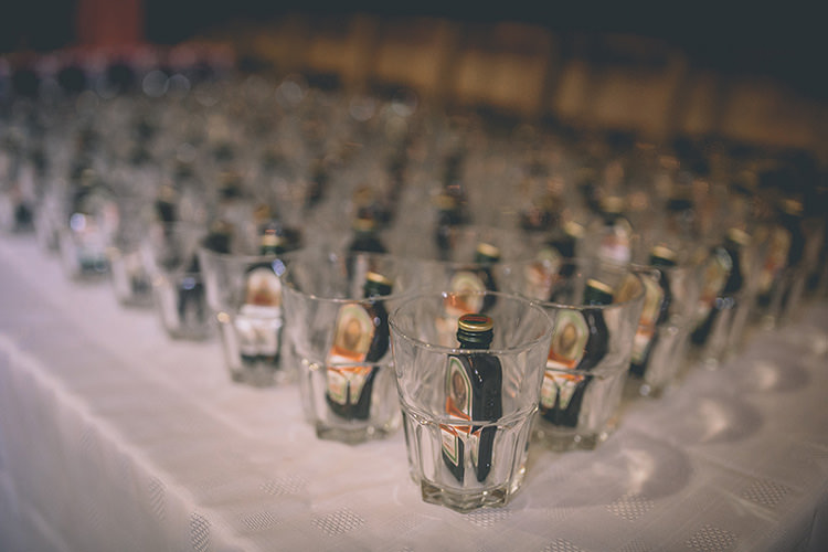 Drink Favours Shots Homespun Fun Country Barn Wedding http://storyandcolour.co.uk/