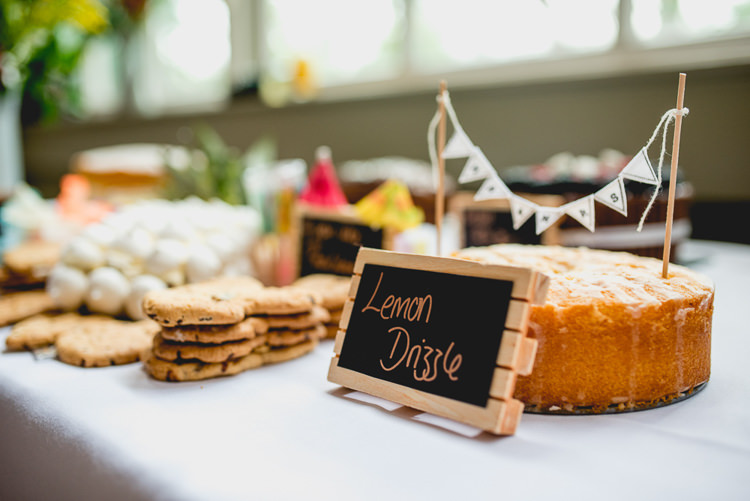 Cake Bake Off Table Dessert Fun Quirky 1950s Wedding http://www.lisacarpenterphotos.com/