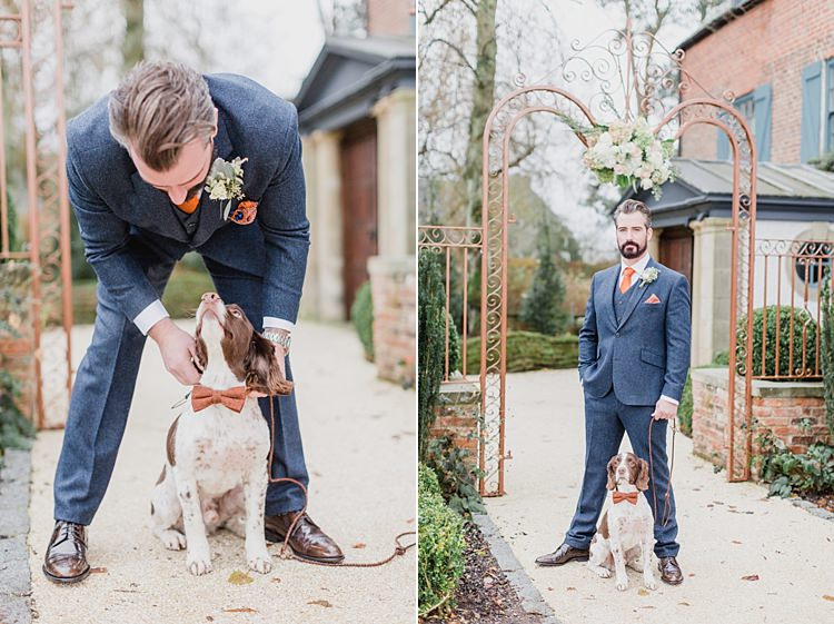 Dog Pet Whimsical Elegant Classic Wedding http://katymelling.com/