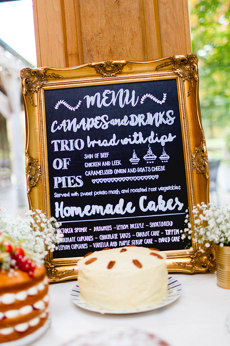 Chalk Black Board Sign Cake Table Stylish Soft Blush Wedding http://www.jemmakingphotography.co.uk/