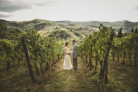 Romantic Intimate Tuscany Destination Wedding http://angelicabraccini.com/