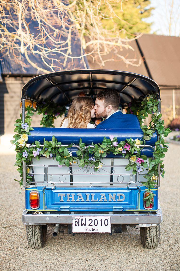 Transport Car Fun Spring Floral Creative Wedding https://www.binkynixon.com/