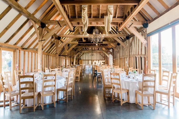Southend Barns Sussex Modern Rustic Ivory Barn Wedding http://vickylamburn.com/