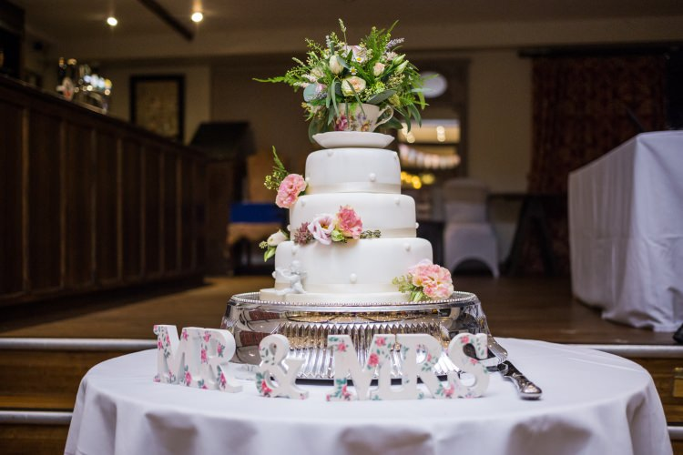 Cake Table Mr Mrs Teacup Floral Tiered Pretty Quirky Pastel Wedding http://www.happilyevercaptured.com/