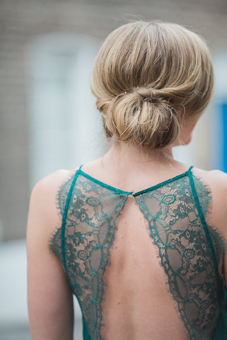 Hair Bride Bridal Chignon Up Do Style Intimate Elegant Two Day City Wedding http://siobhanhphotography.com/