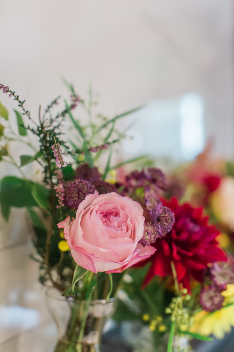 Pink Rose Flowers Intimate Elegant Two Day City Wedding http://siobhanhphotography.com/