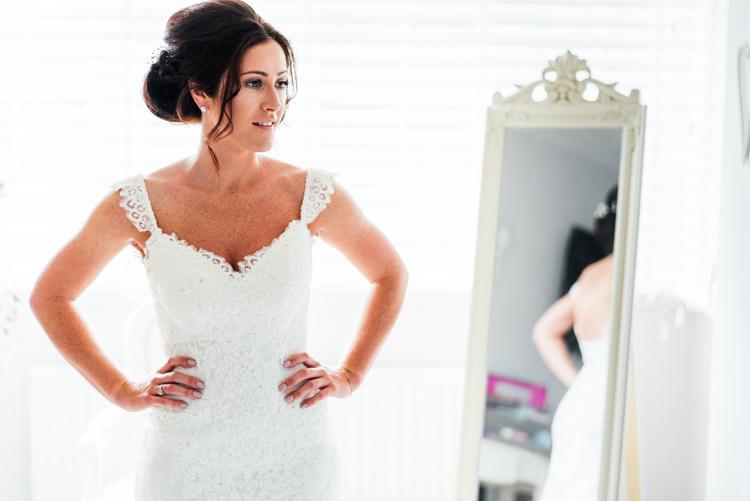 Essense of Australia Lace Sweetheart Dress Gown Bride Bridal Staps Fun Loving Secret Garden Tipi Wedding https://www.aaroncollettphotography.co.uk/