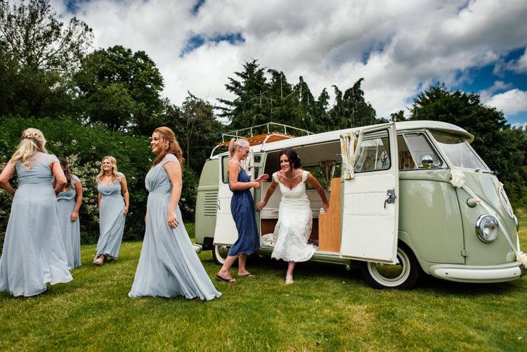VW Camper Van Fun Loving Secret Garden Tipi Wedding https://www.aaroncollettphotography.co.uk/